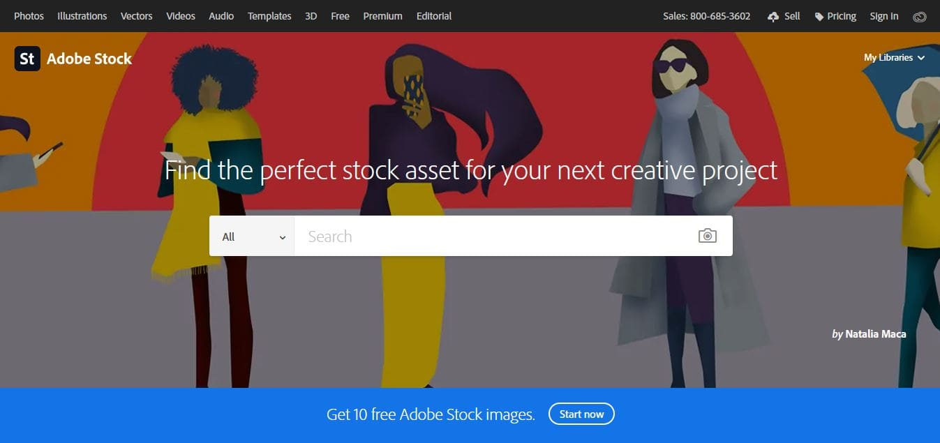 What is Adobe Stock Photos